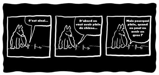 webzine,gratuit,bd,zébra,bande-dessinée,fanzine,wschinski,allemand,germany,gag,humbug,chien,strip,webcomic,polar,g-1759
