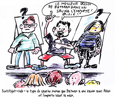 webzine,bd,gratuit,zébra,bande-dessinée,reportage,festiblog,2013,aidenbaum,chinois,mairie,paris,boulet,lewis trondheim,geek-friendly,caricature,satirique,zombi,dédicace
