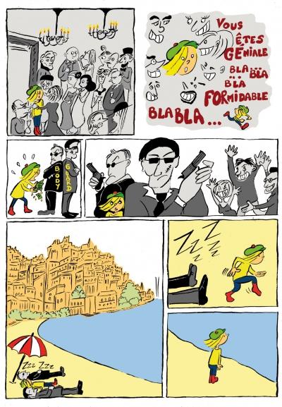 webzine,gratuit,zébra,bd,fanzine,bande-dessinée,lola,aurélie dekeyser,money,comics