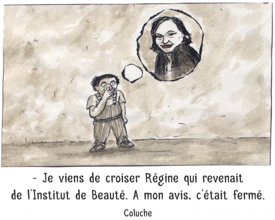 webzine,bd,zébra,gratuit,fanzine,bande-dessinée,caricature,coluche,régine,citation,portrait,dessin,satire,marc schmitt