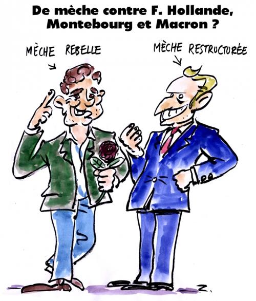 webzine,bd,zébra,gratuit,fanzine,bande-dessinée,caricature,emmanuel macron,arnaud montebourg,présidentielle,2017,gauche,dessin,presse,satirique,editorial cartoon,zombi