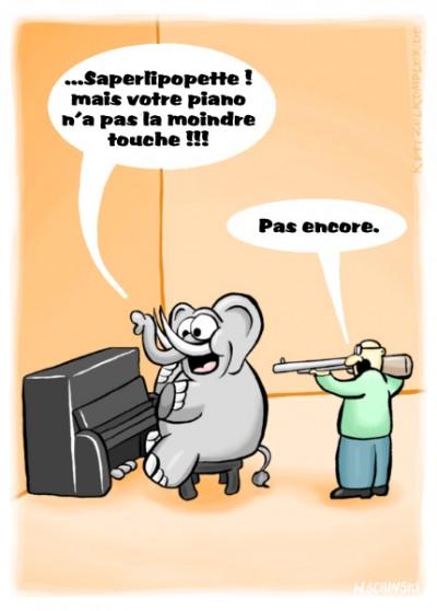 fanzine,bd,zébra,humour,allemand,comics,wschinski,humbug,gag,cartoon,krass,taquiner l'éléphant,taquiner l'ivoire,argot,weblog