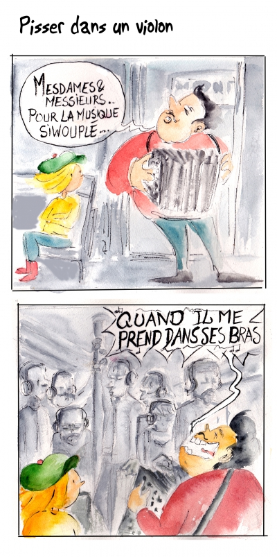 webzine,bd,gratuit,zébra,bande-dessinée,fanzine,strip,lola,aurélie dekeyser,paris,métro,musique,musicien,roumain