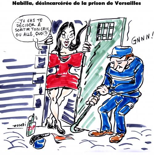 webzine,bd,gratuit,fanzine,zébra,bande-dessinée,caricature,nabilla,prison,versailles,maton,dessin,presse,satirique,editorial cartoon,zombi